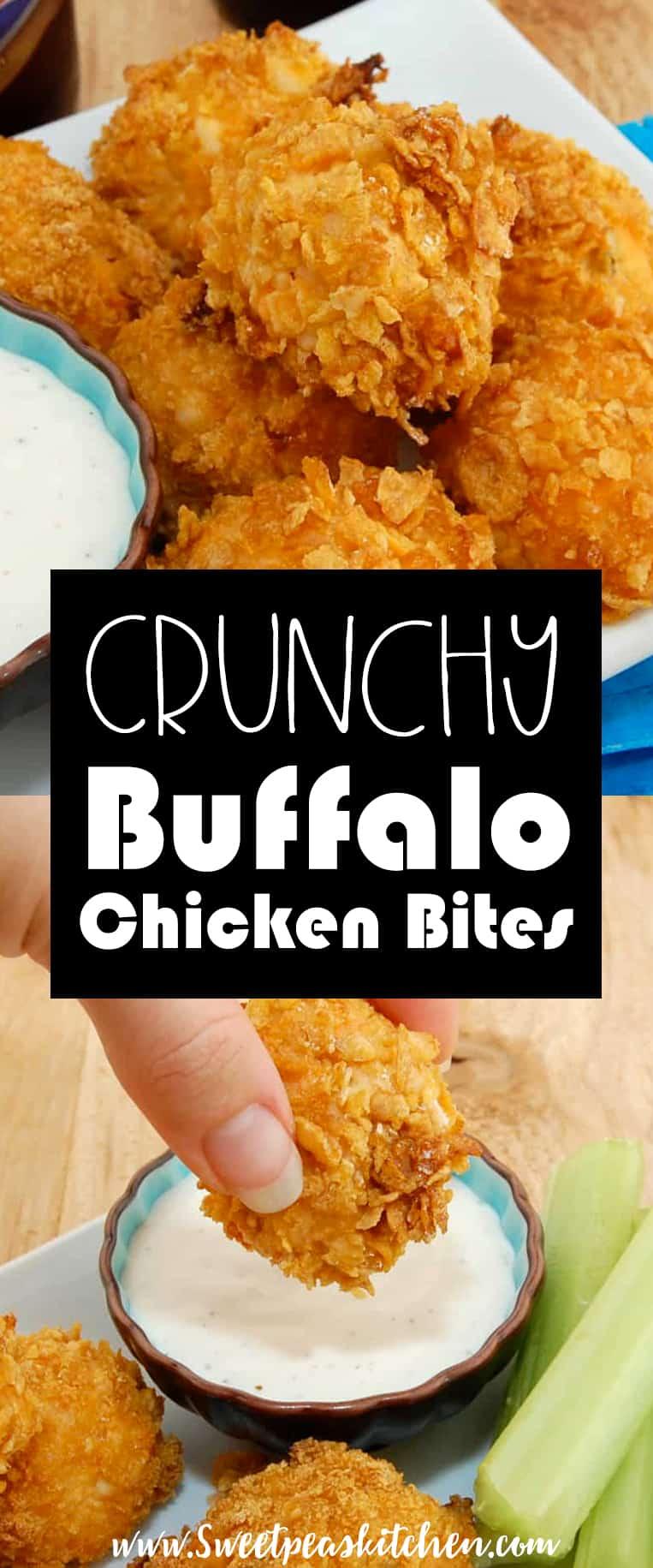 Crunchy Buffalo Chicken Bites Recipe