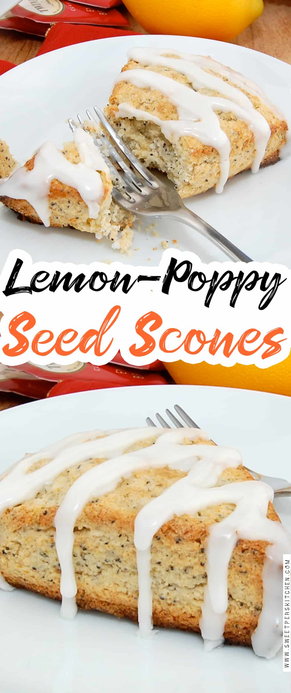 Lemon-Poppy Seed Scones