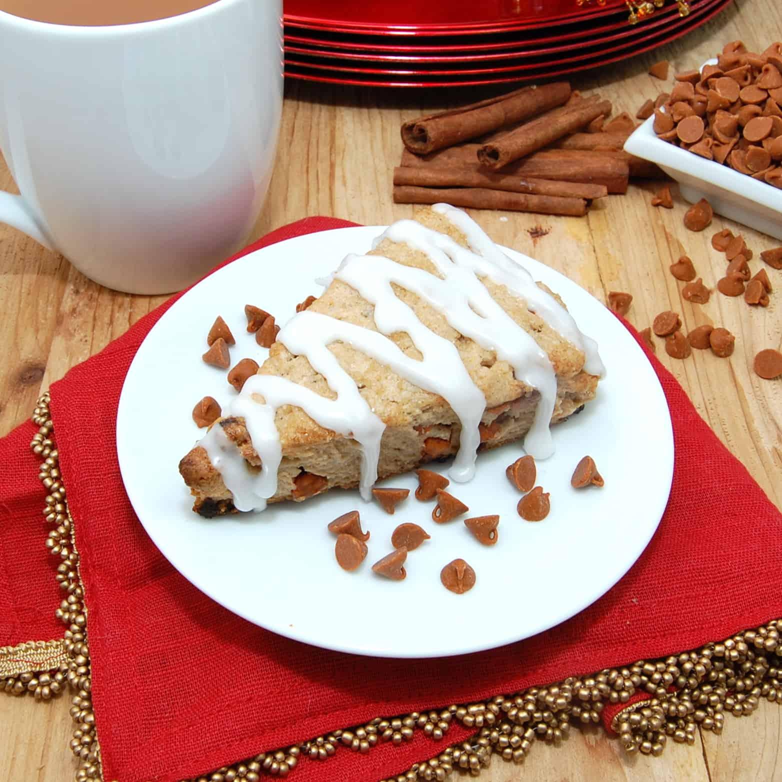 Sweet Cinnamon Scones Recipe — Dishmaps
