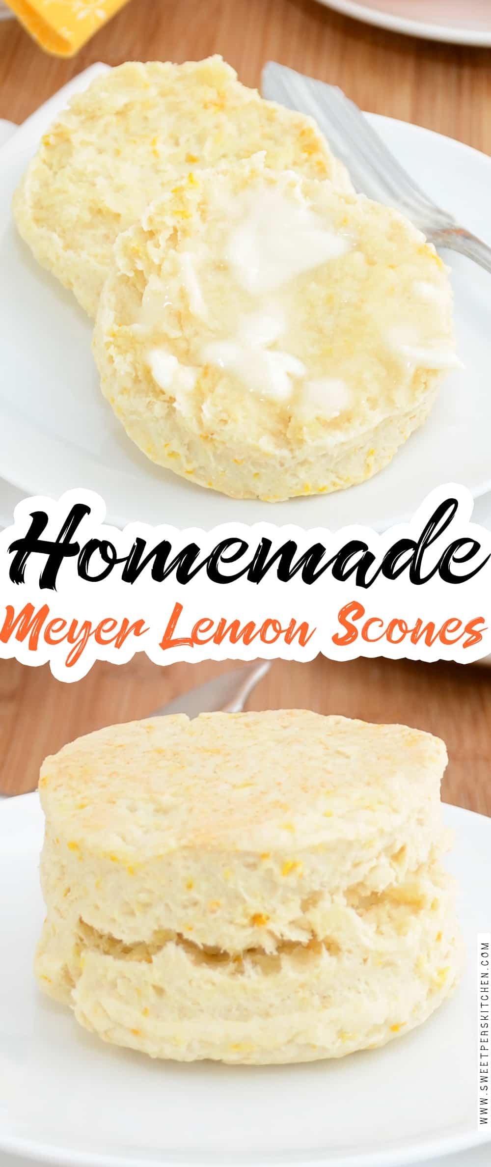 Meyer Lemon Scones