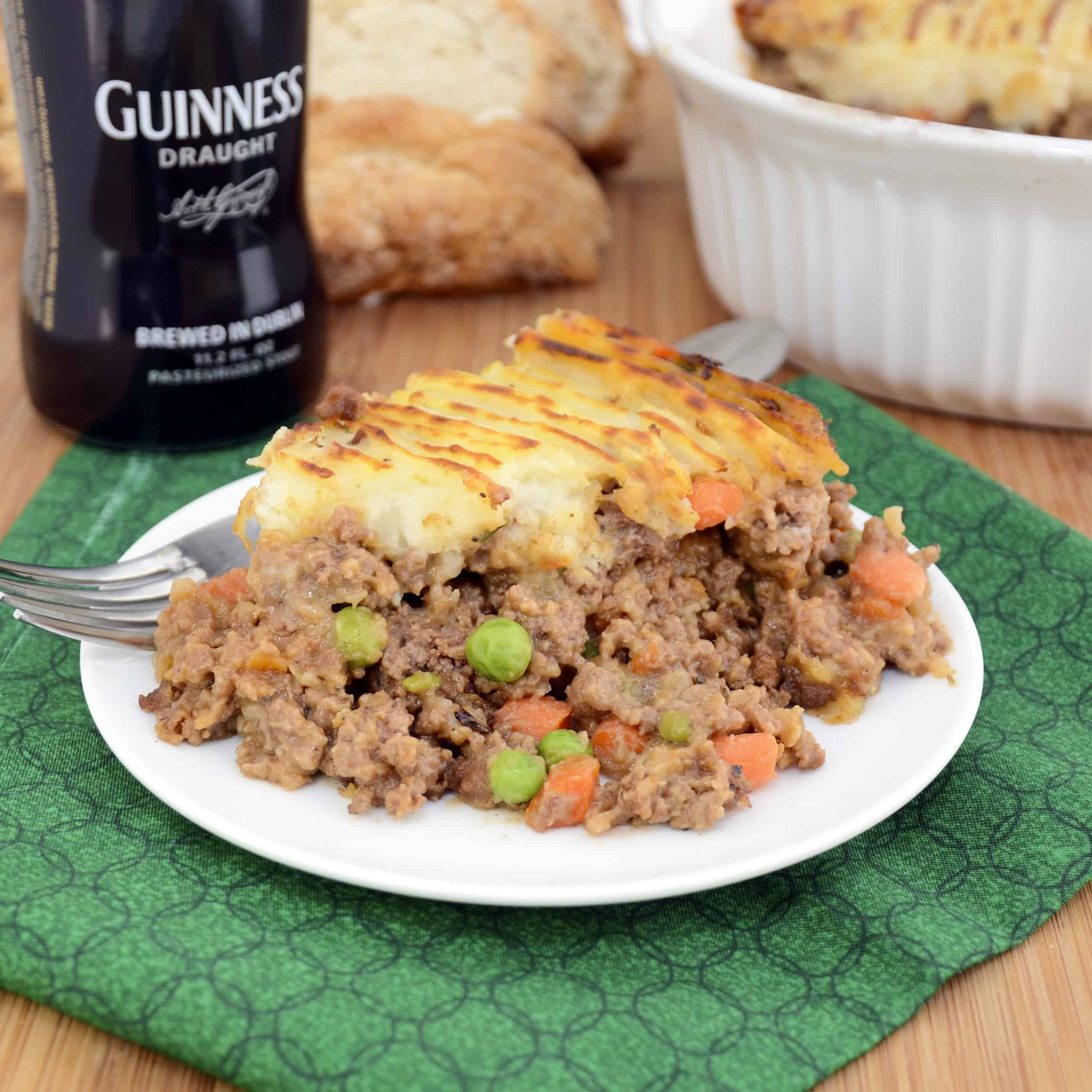 Guinness Shepherd's Pie with Beef