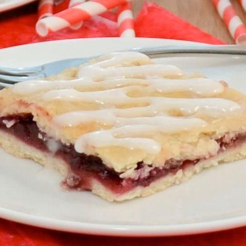Sweet Cherry Slab Pie