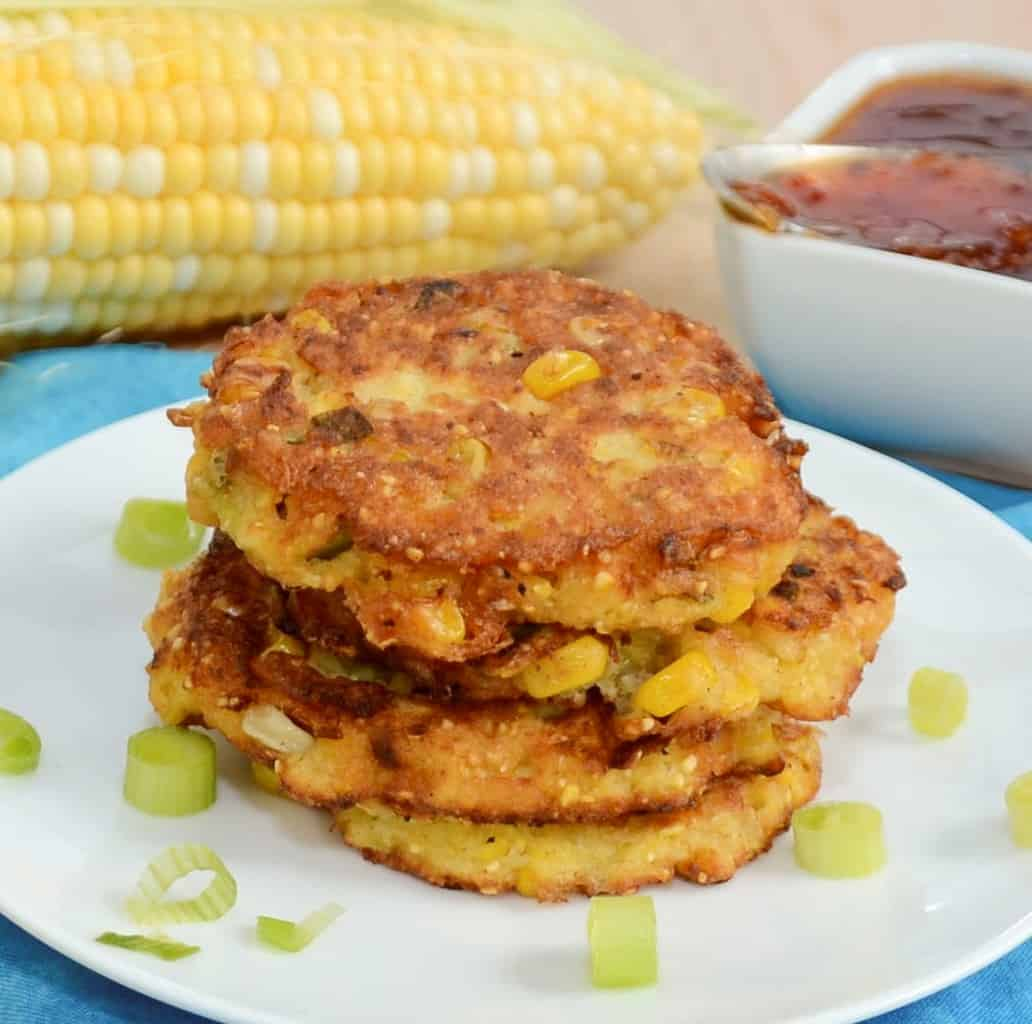 Farmstand Corn Fritters