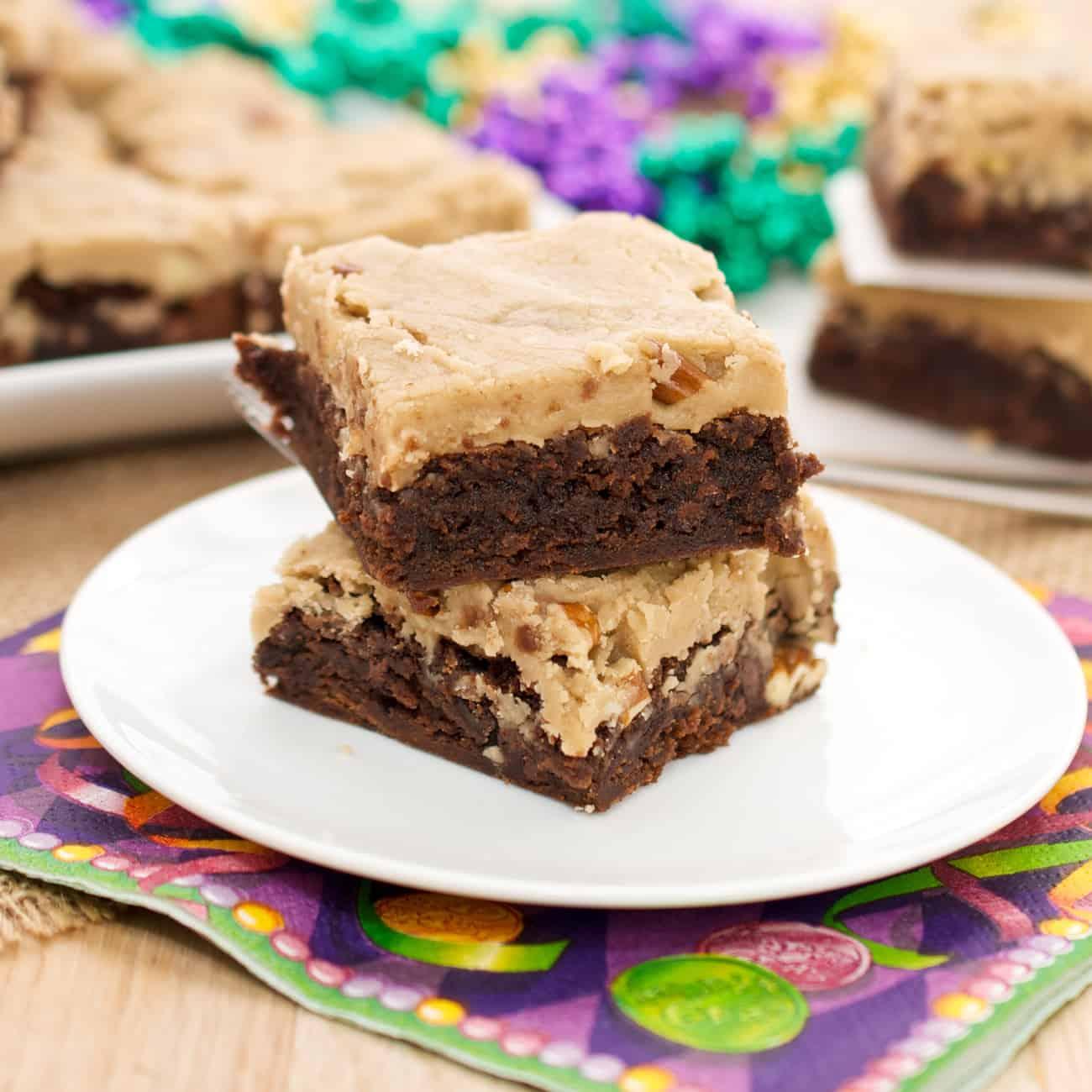 New Orleans Praline Brownies