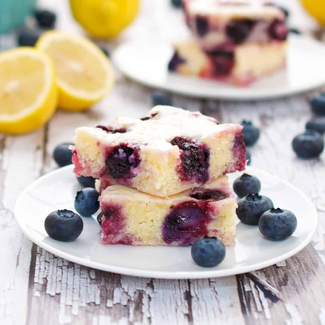 Blueberry Lemon Brownies