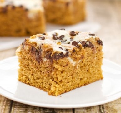 Easy Pumpkin Bars with Cream Cheese Swirl Recipe