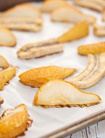 Roasted Banana & Pear Puree