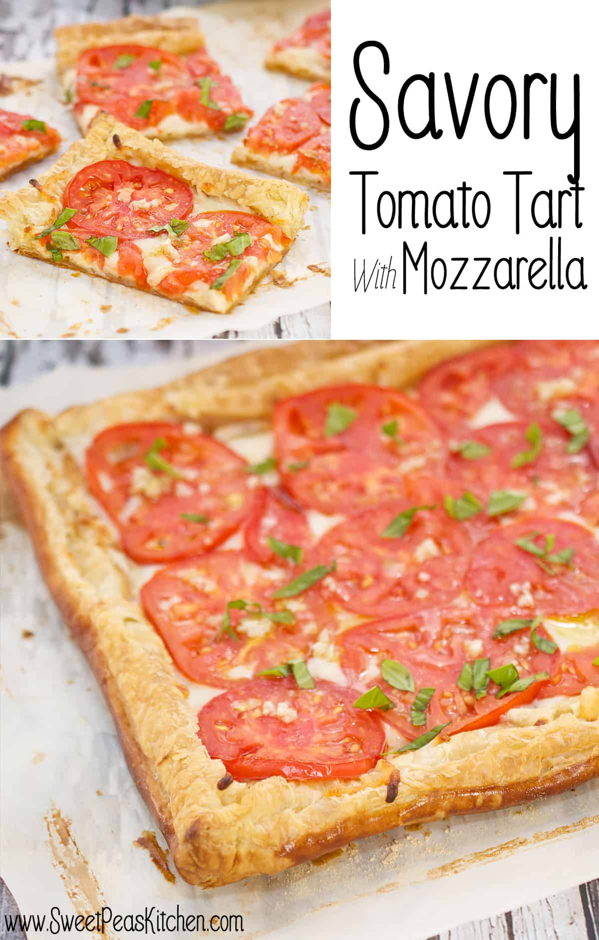 Savory Tomato Tart Recipe With Mozzarella