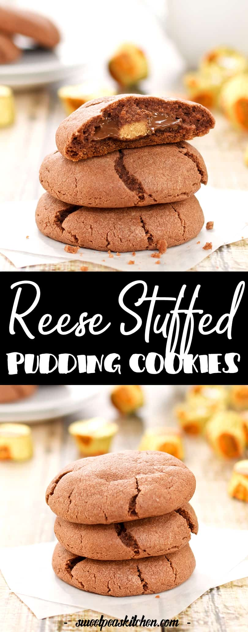 Reese Stuffed Pudding Cookies Recipe