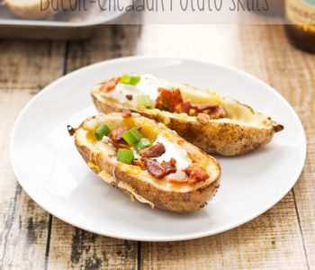 Bacon Cheddar Potato Skins
