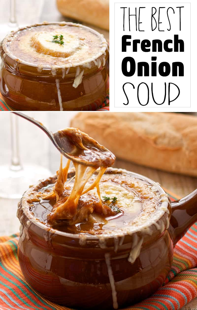 Best French Onion Soup - PIN Image