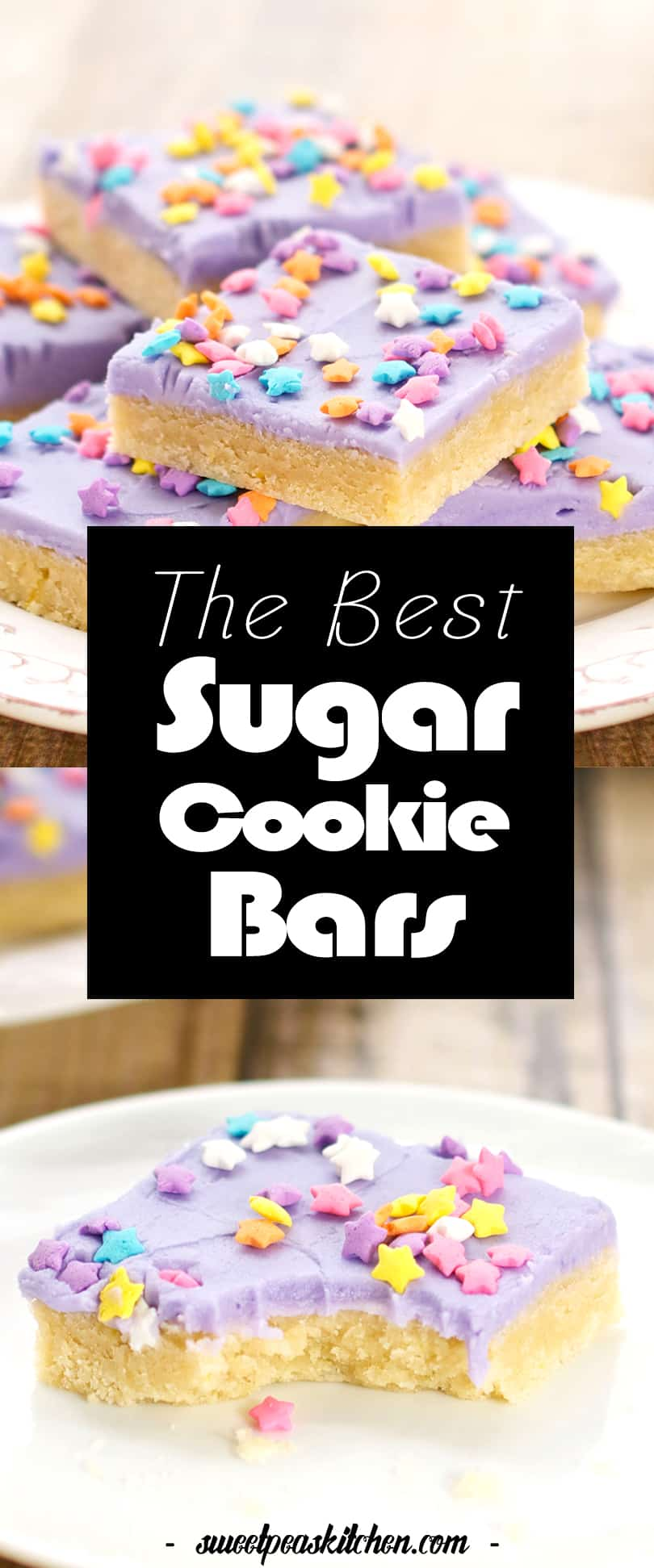The Best Easy Sugar Cookie Bars Recipe