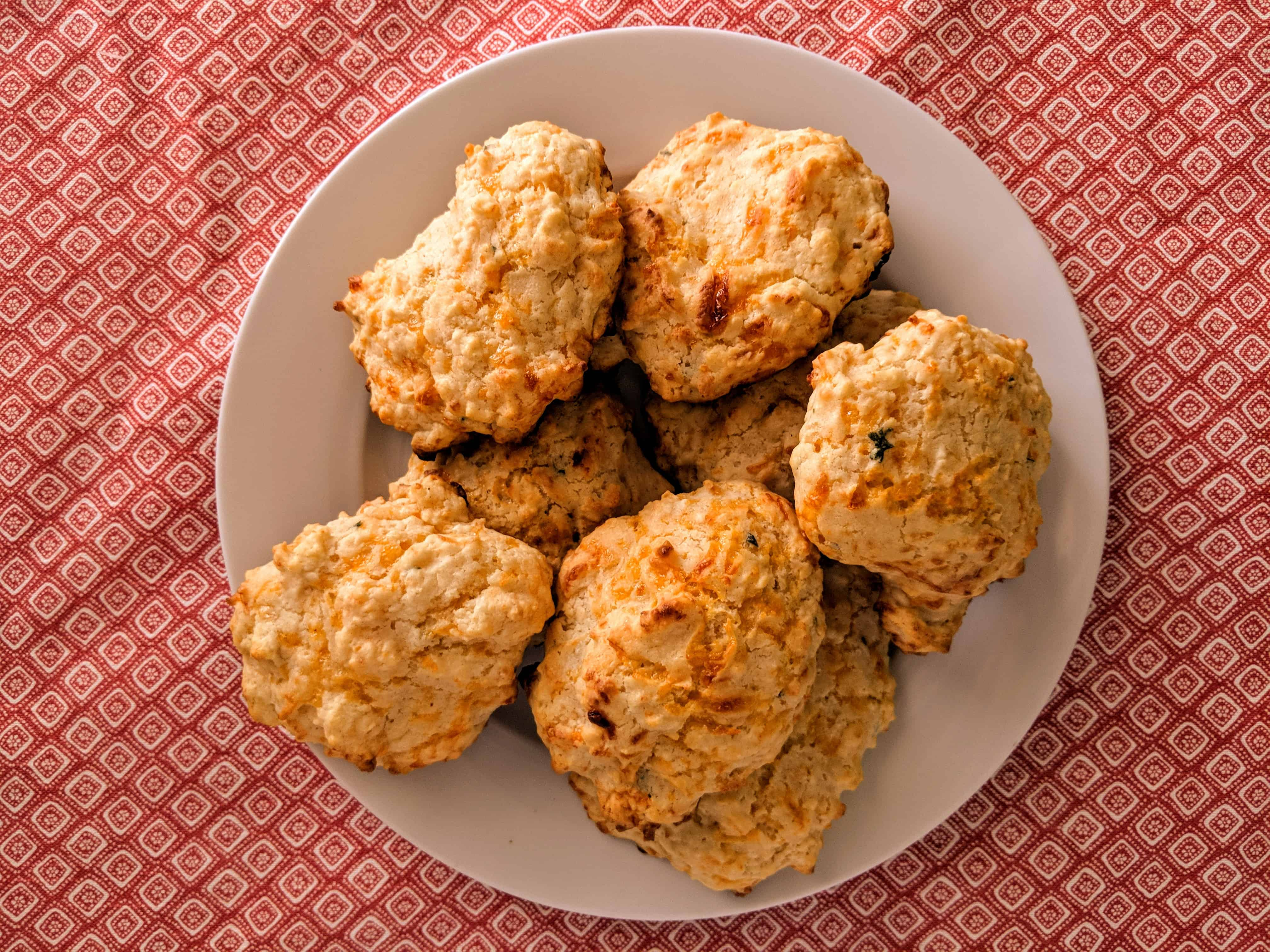 Cheesy Quick Biscuits Recipe