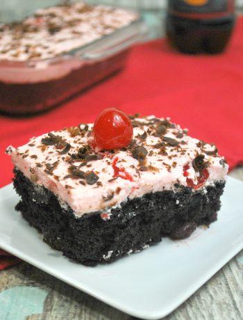 Cherry Dr Pepper Cake