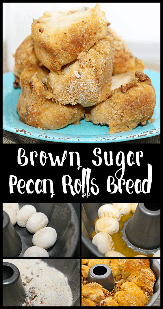 brown sugar pecan roll bread