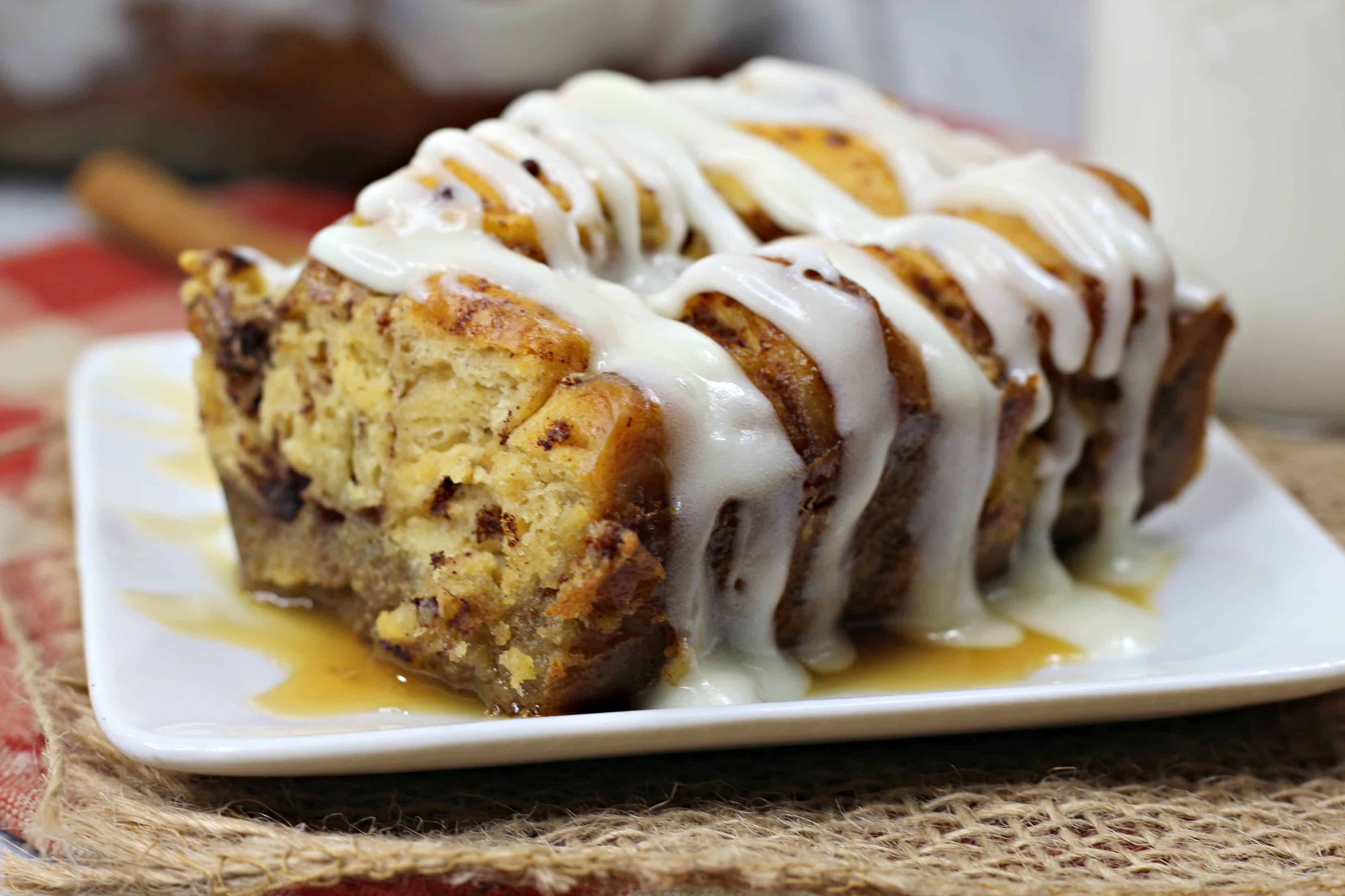 cinnamon rolls oven french toast