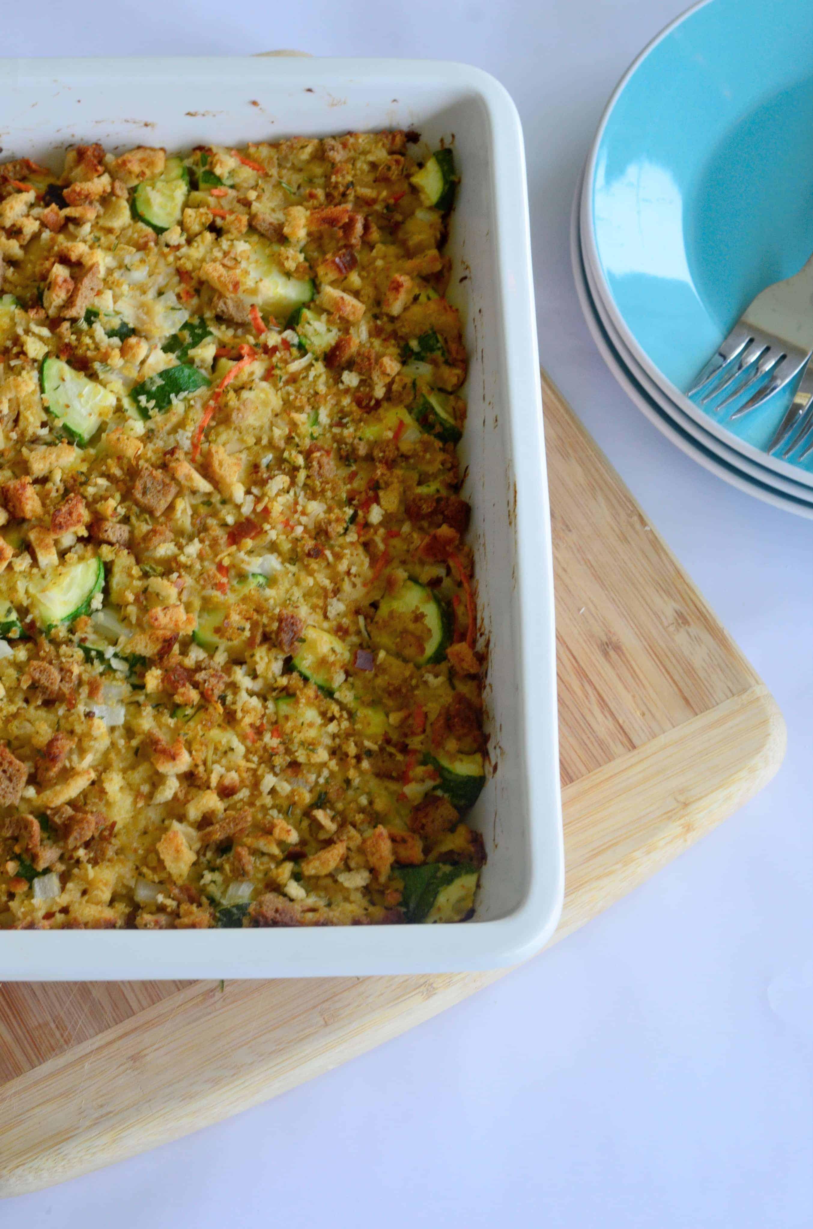 turkey zucchini casserole