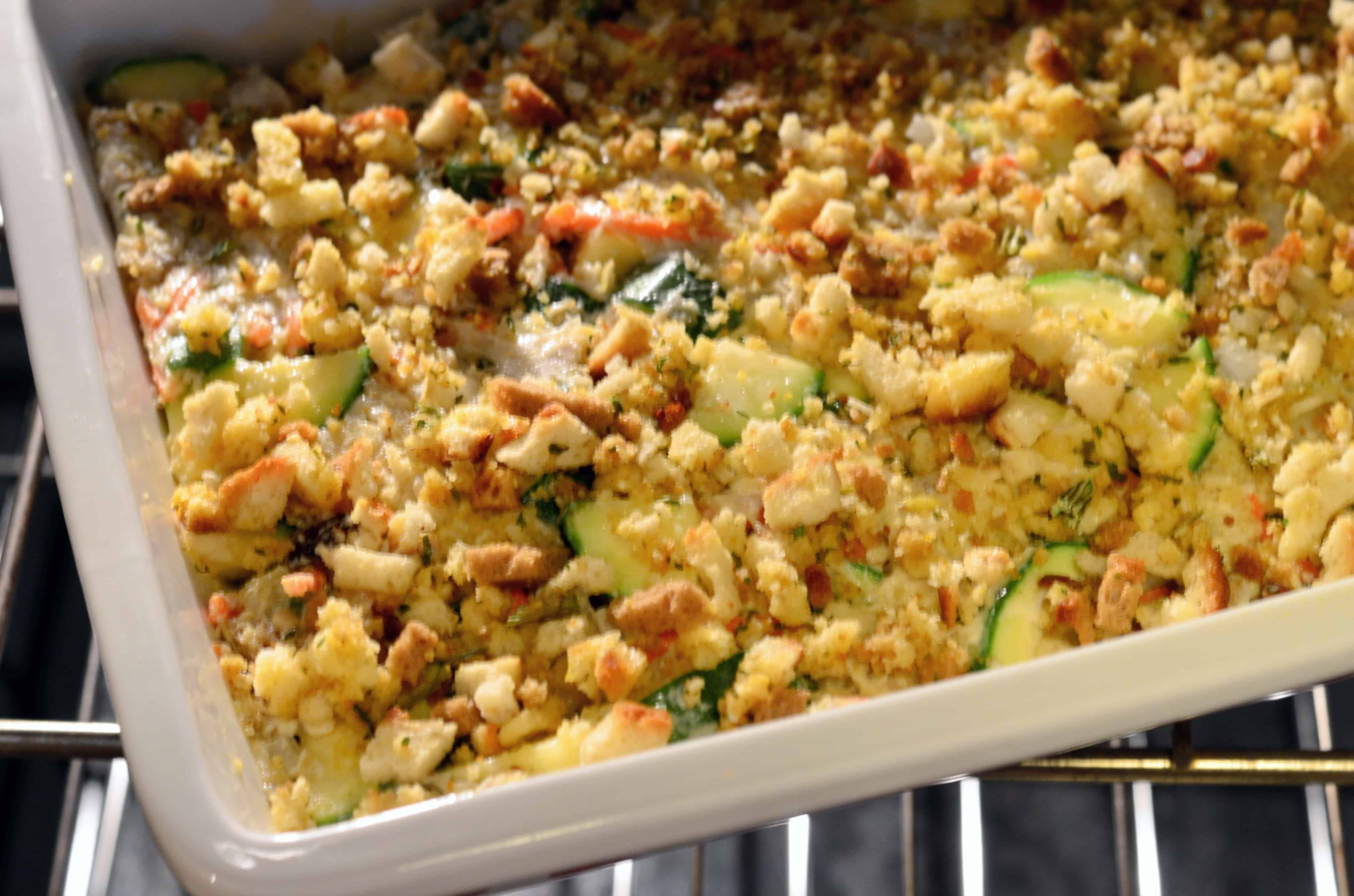 turkey casserole with stuffing