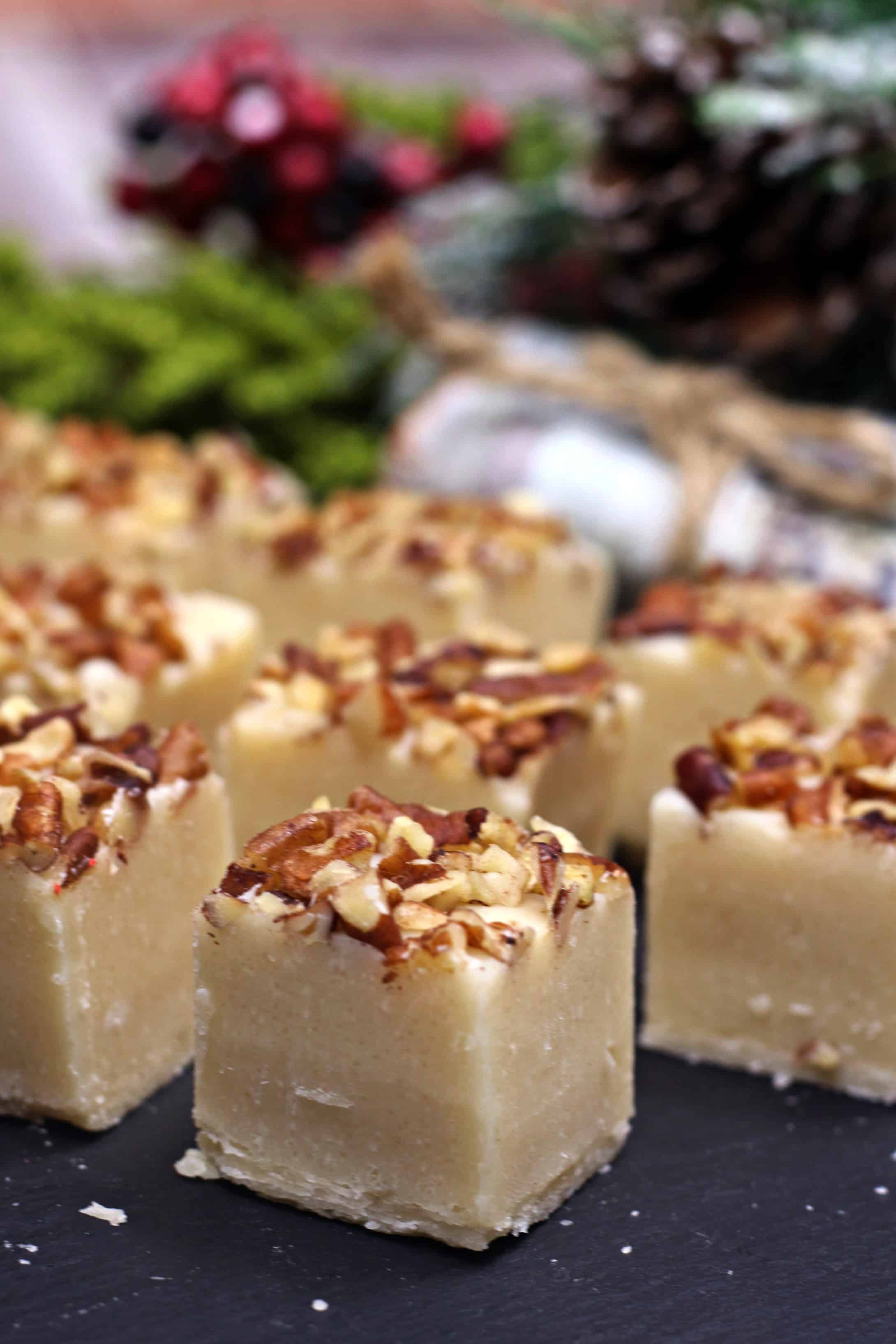 Pecan Pie fudge