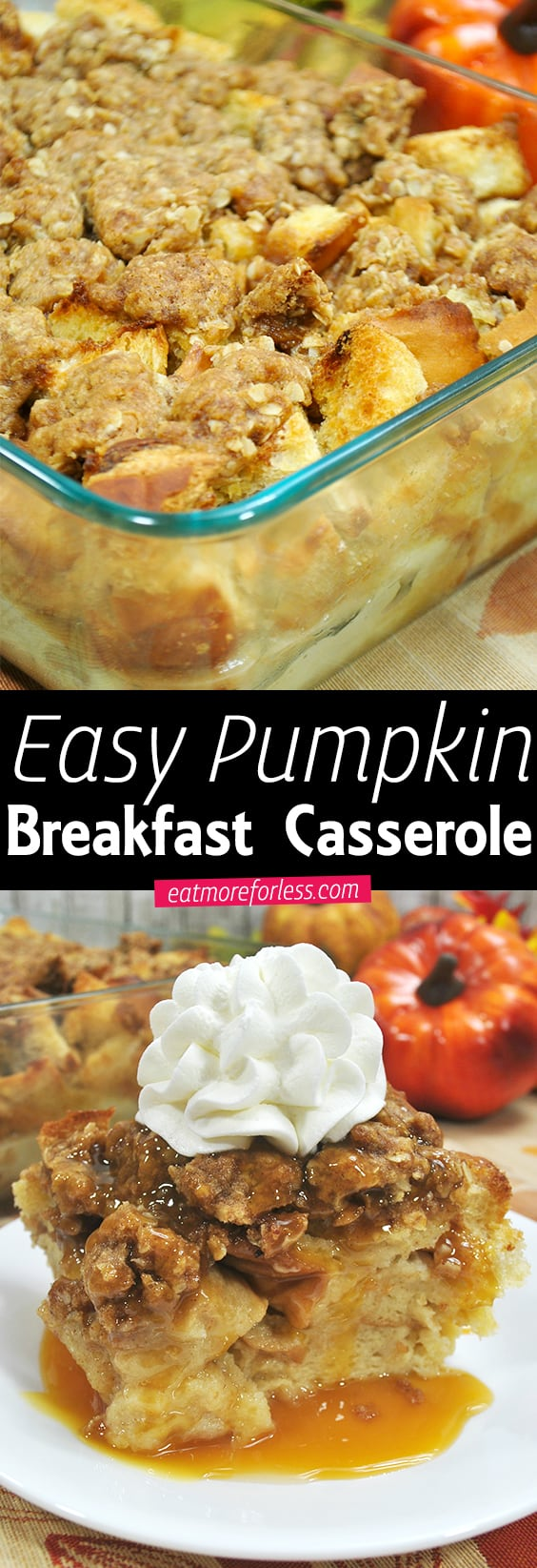 Pumpkin Breakfast Casserole