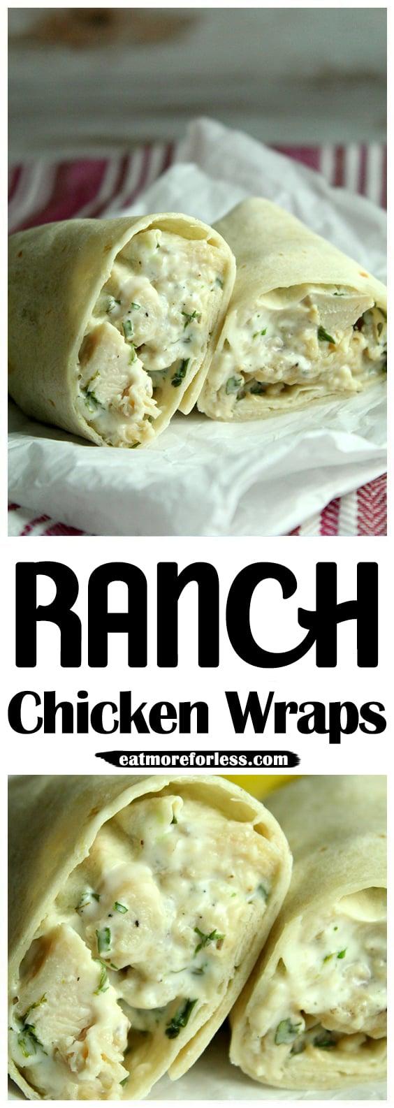 Ranch Chicken Wraps