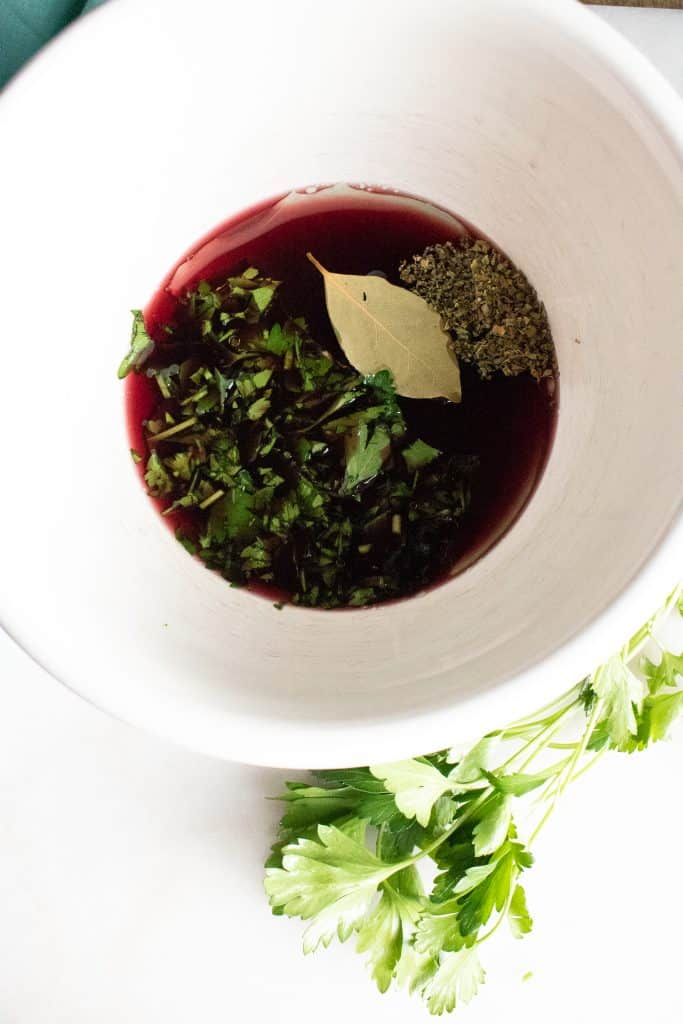 add seasoning to marinade