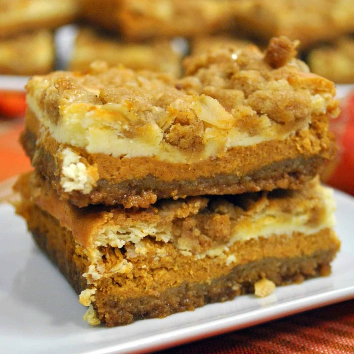 Pumpkin Cheesecake Bars Recipe Sweet Pea S Kitchen