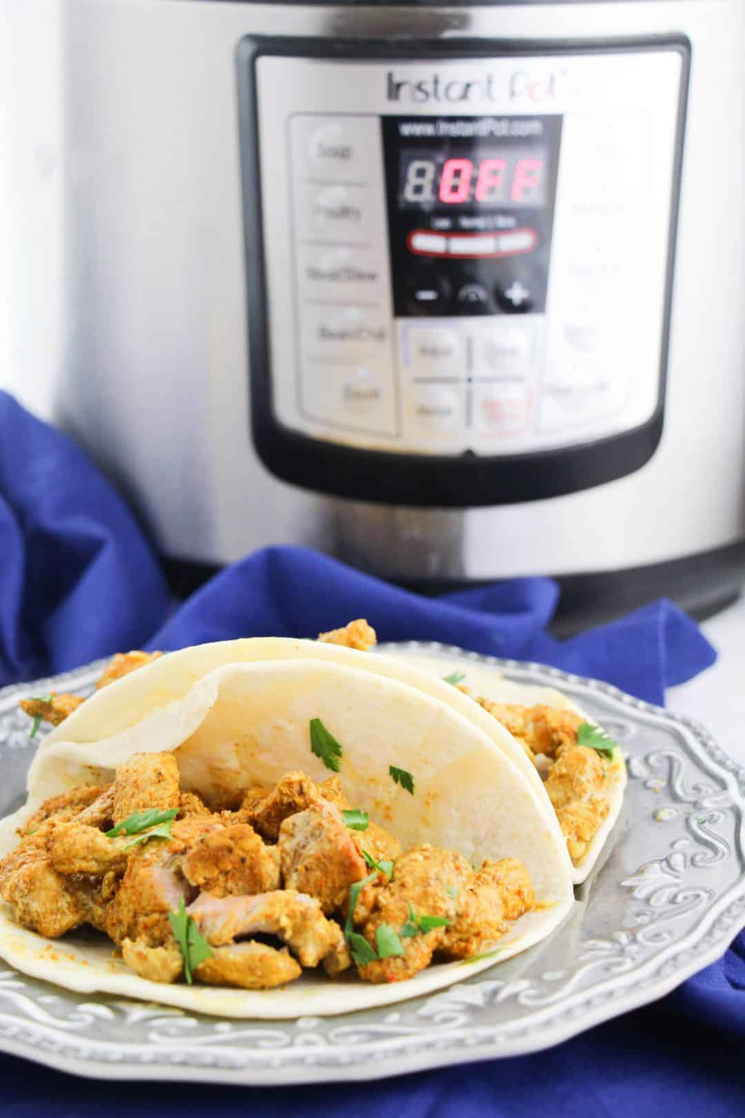 lebanese chicken in shell by instant pot