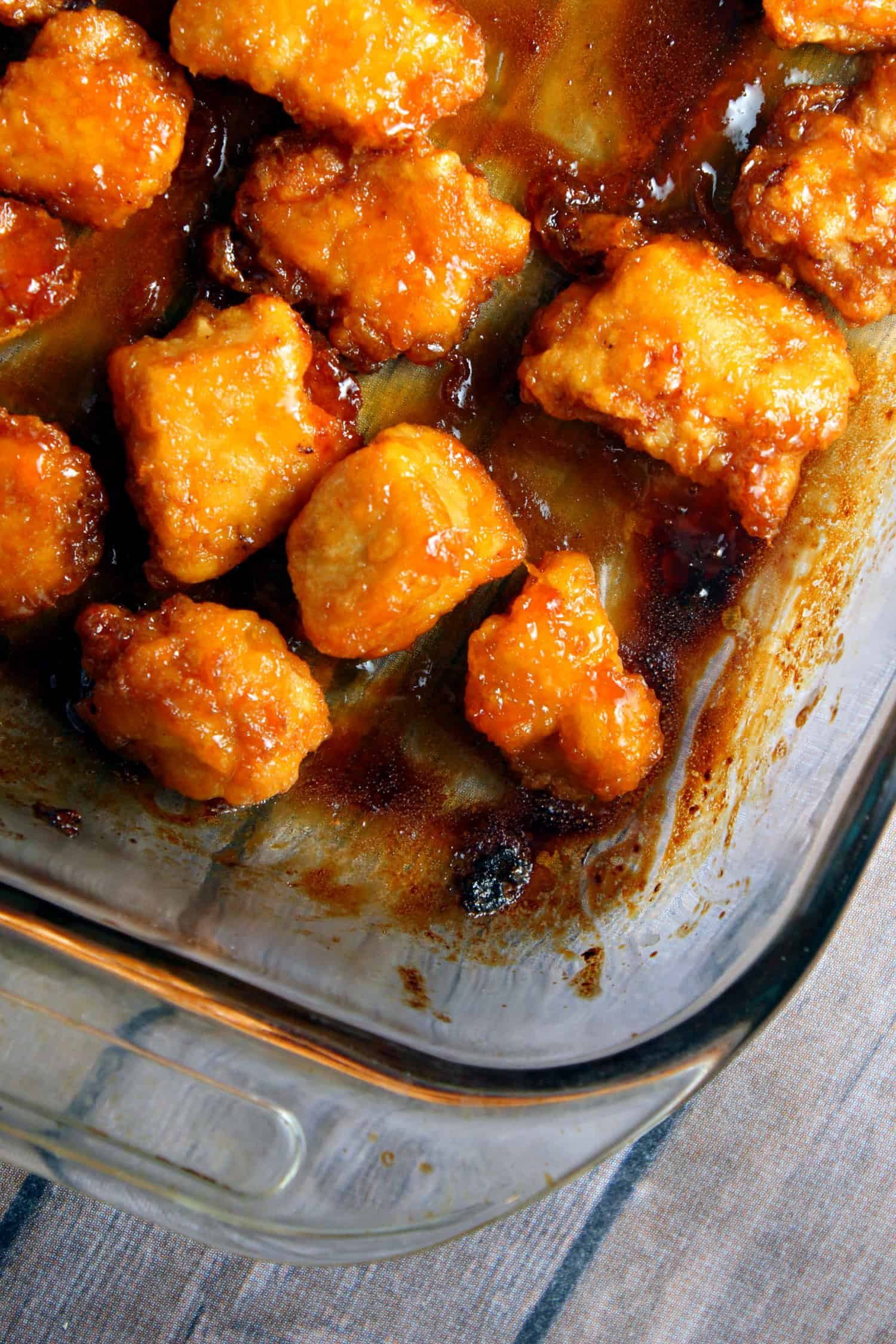 Baked Sweet and Sour Chicken