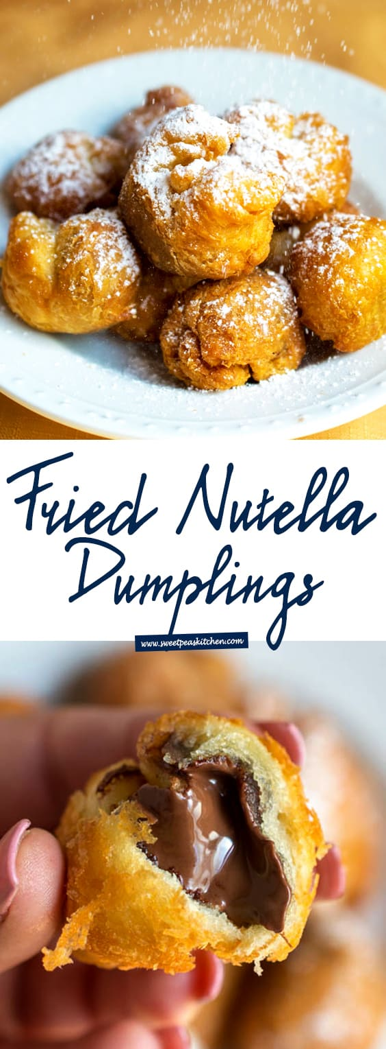 Fried Nutella Dumplings
