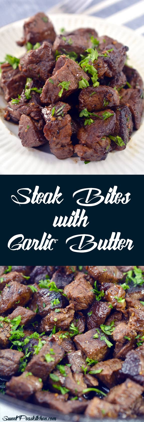 Steak Bites with Garlic Butter