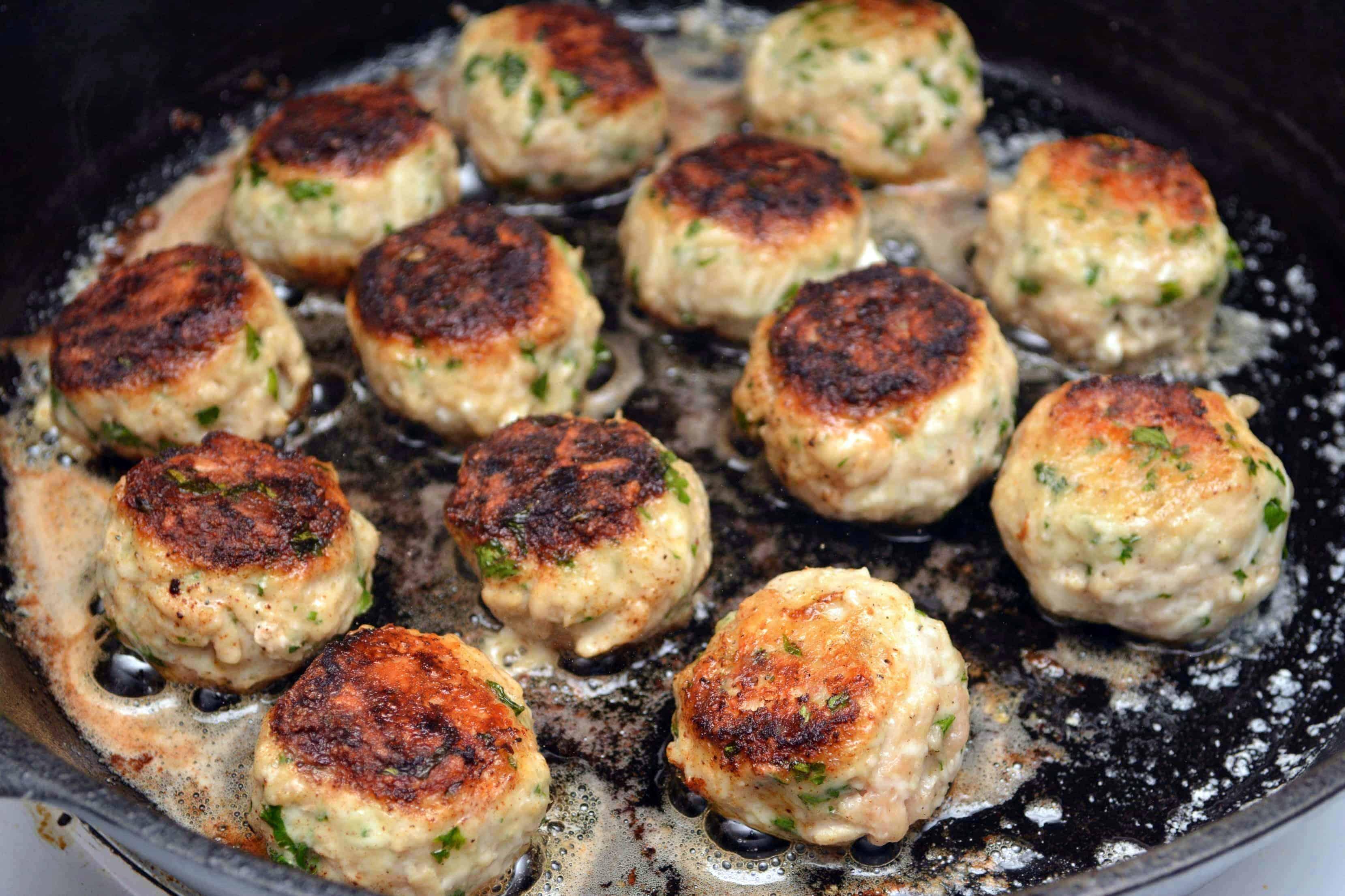 stuffed turkey meatballs