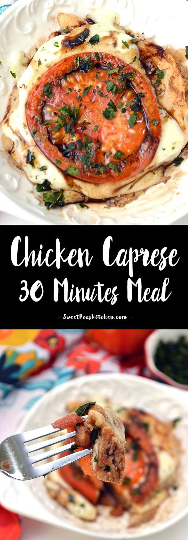 Chicken Caprese – 30 Minutes or Less Meal