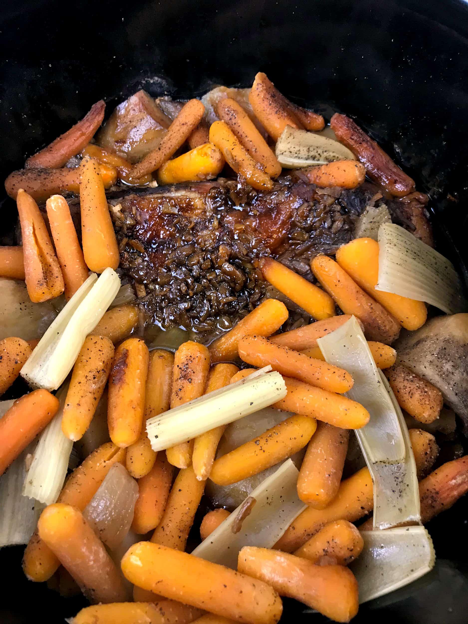 pot roast in slow cooker