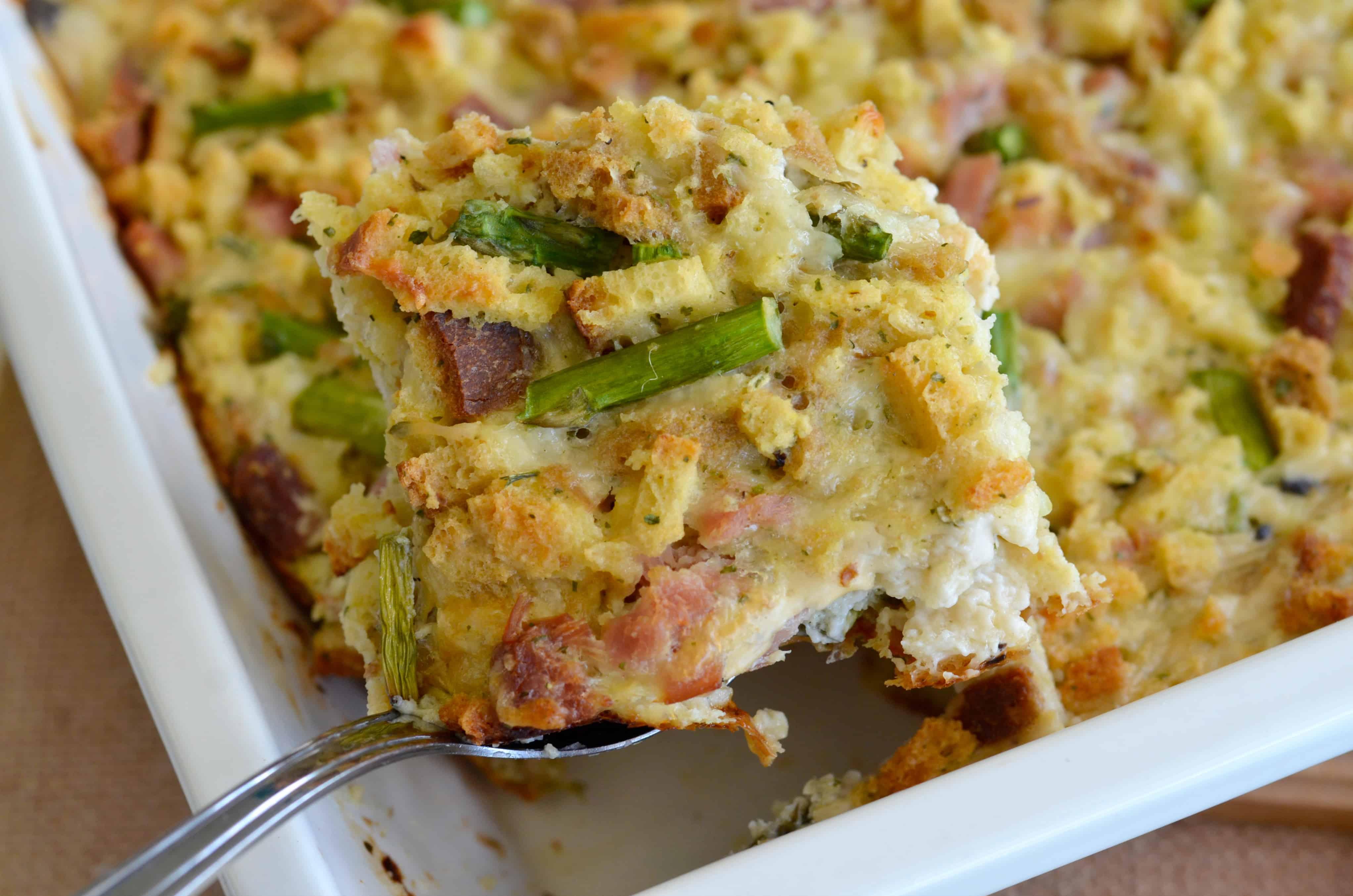 ham asparagus casserole