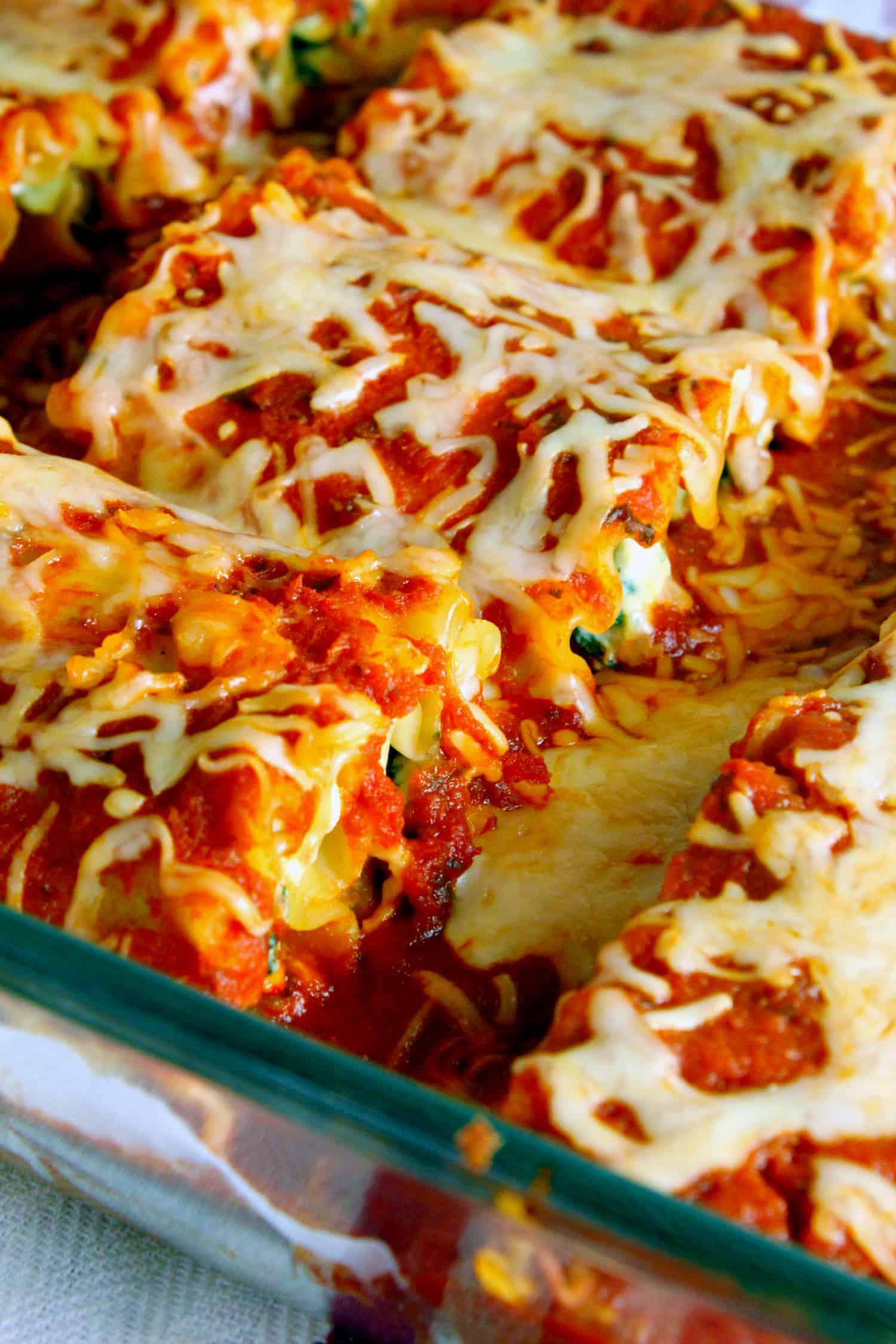 Mini Lasagna Rolls