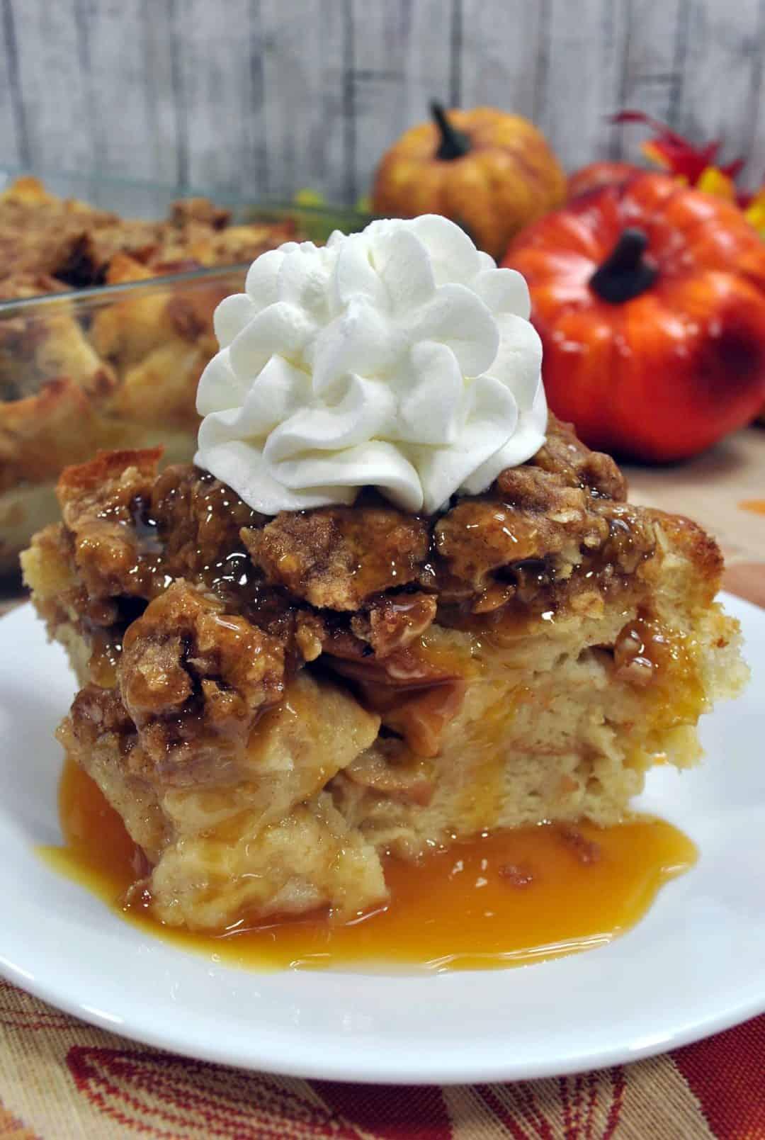 Pumpkin Breakfast Casserole
