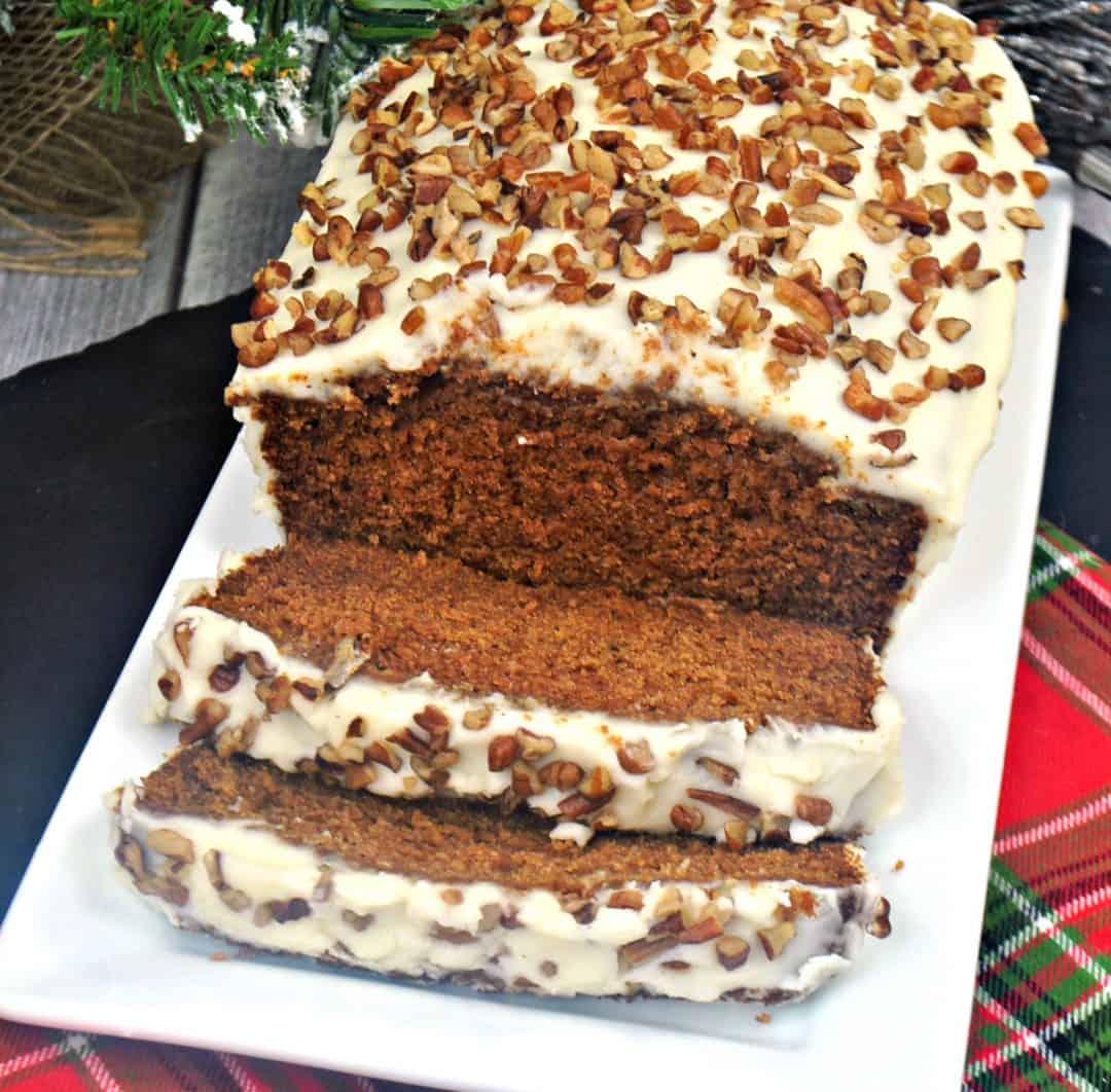 Starbucks Gingerbread Loaf