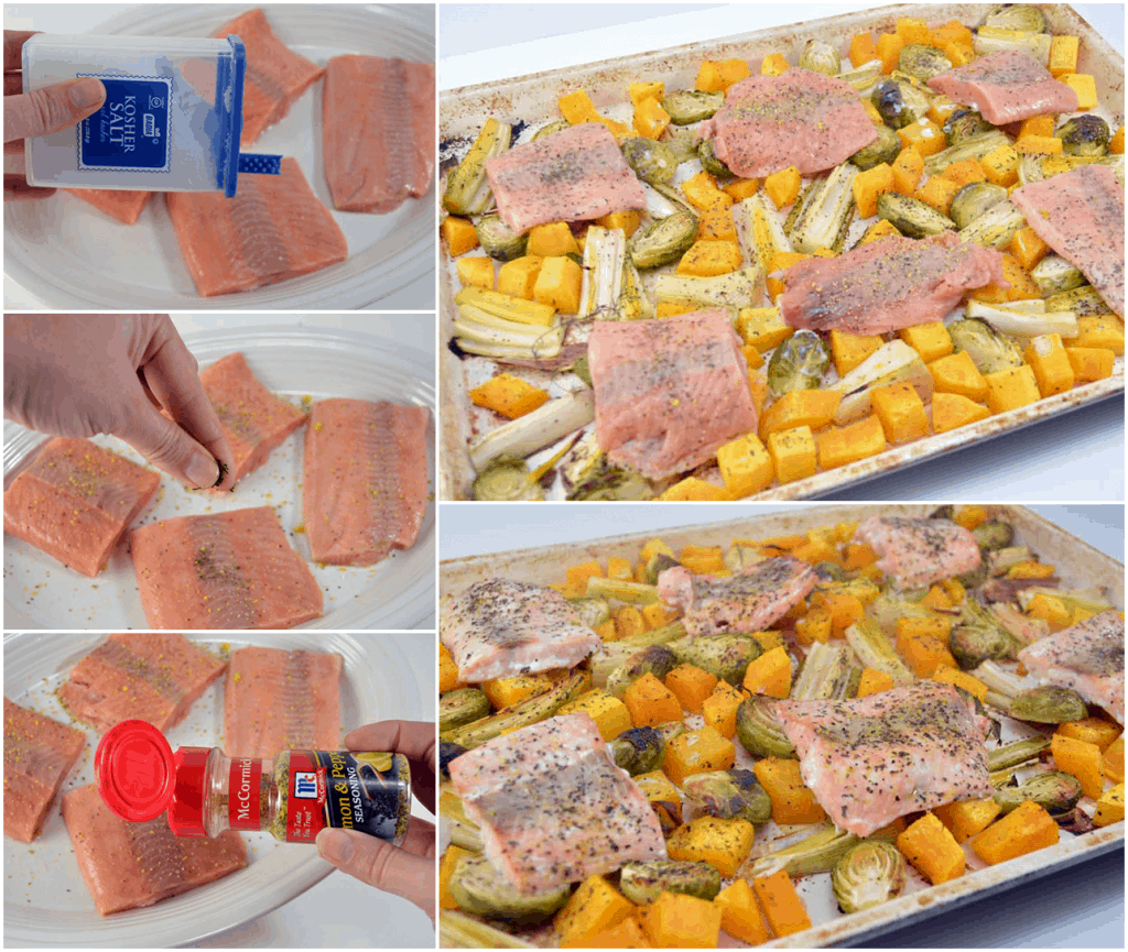 baked salmon steps via images