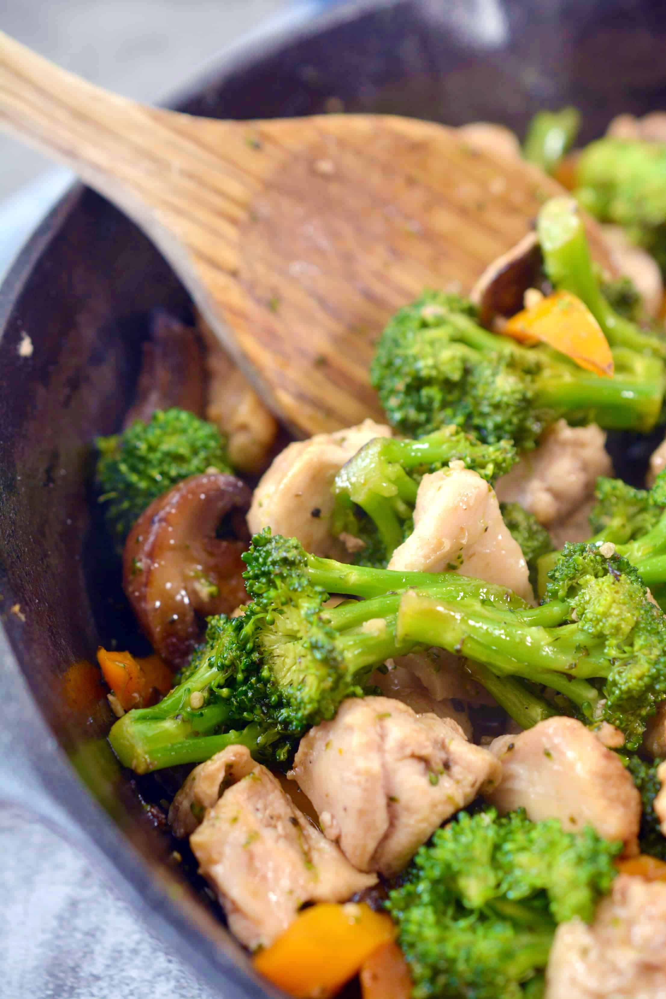 Garlic Chicken Stir Fry Recipe Sweet Pea S Kitchen