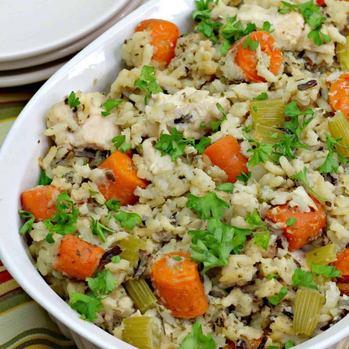 Chicken Wild Rice Casserole Recipe