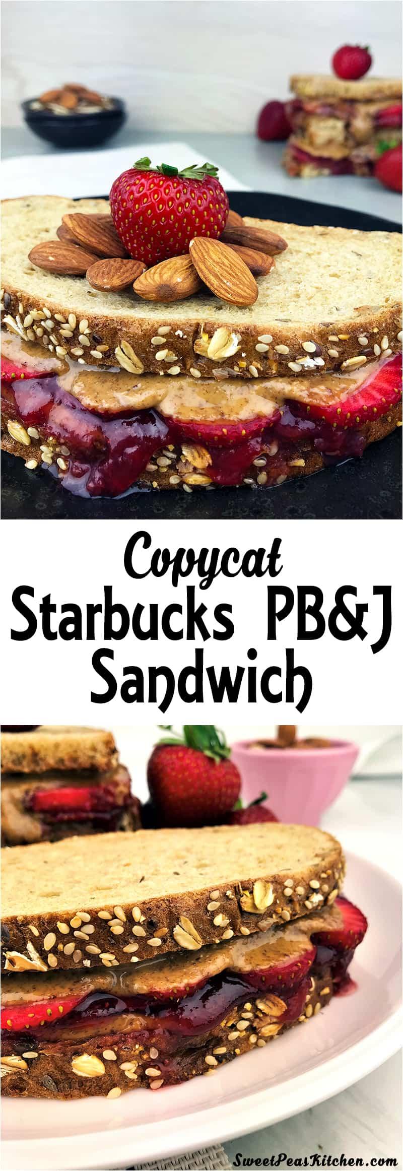 Copycat Starbucks PB&J Sandwich