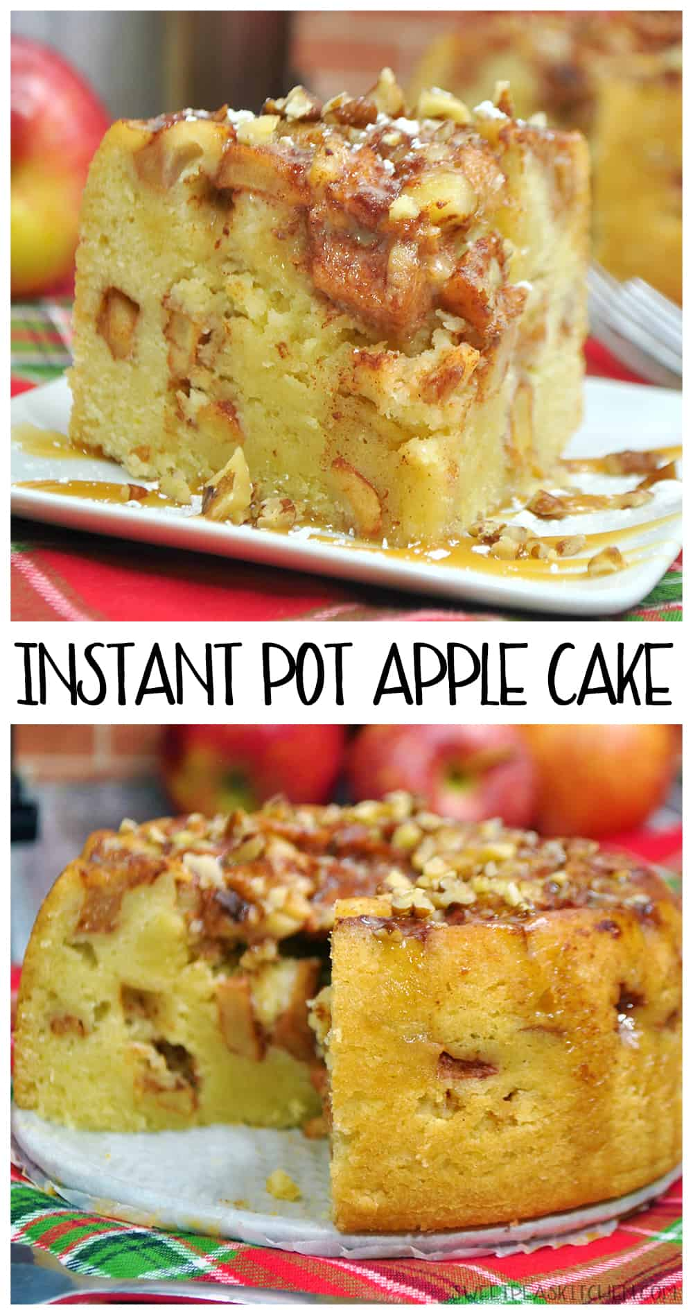 Instant Pot Apple Cake Recipe