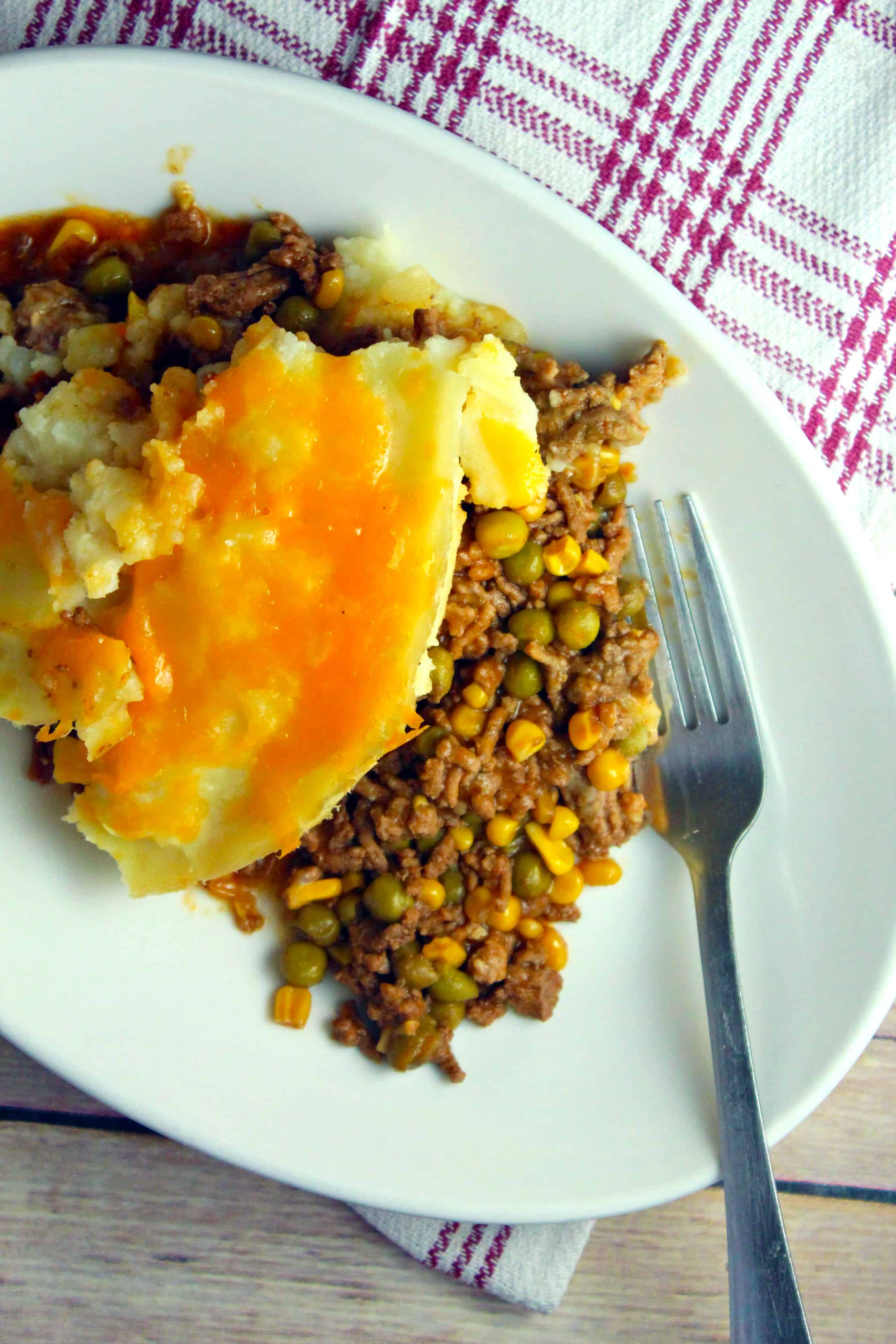 slow cooker sheperd's pie