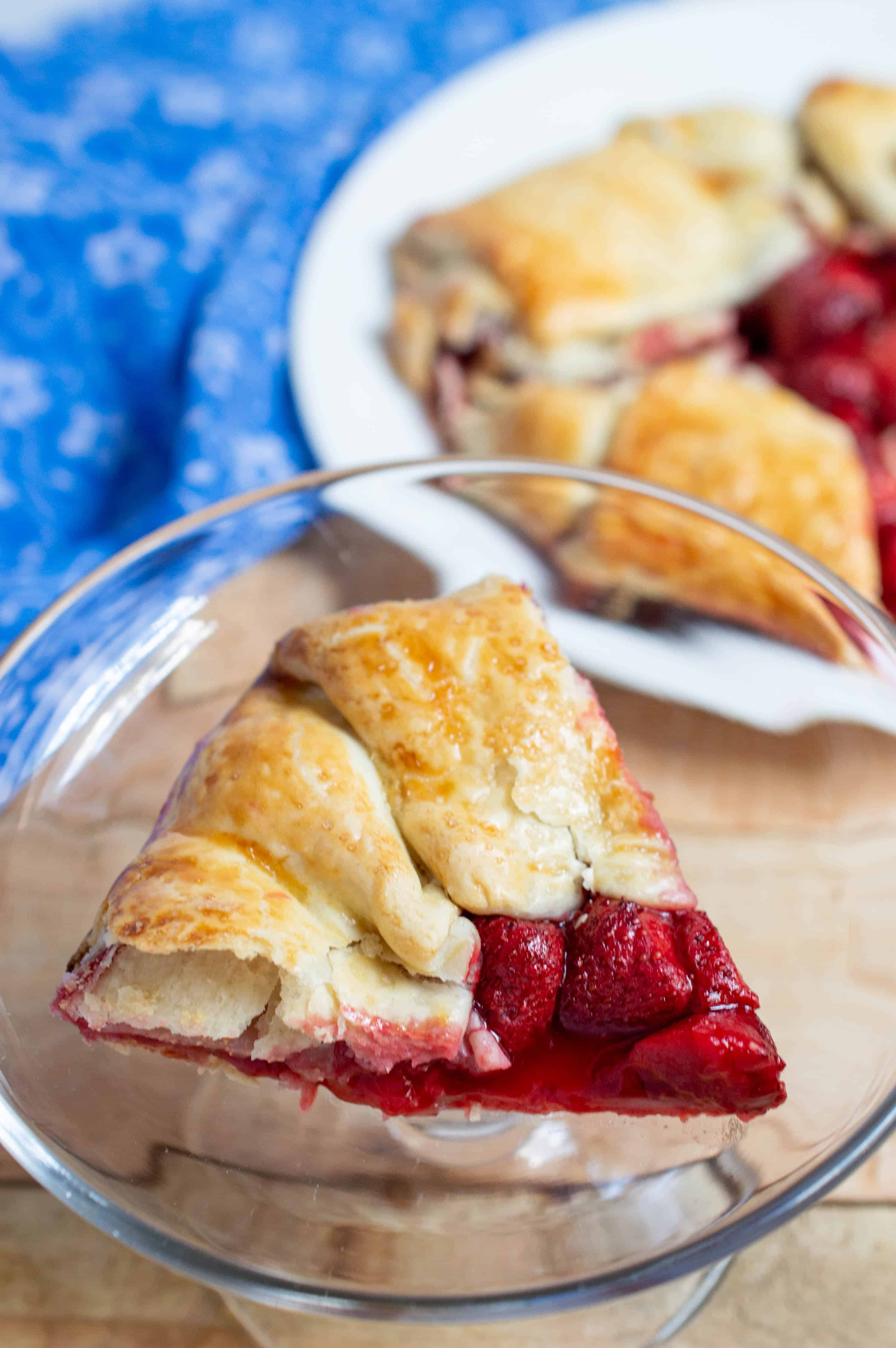 Easy Strawberry Galettes