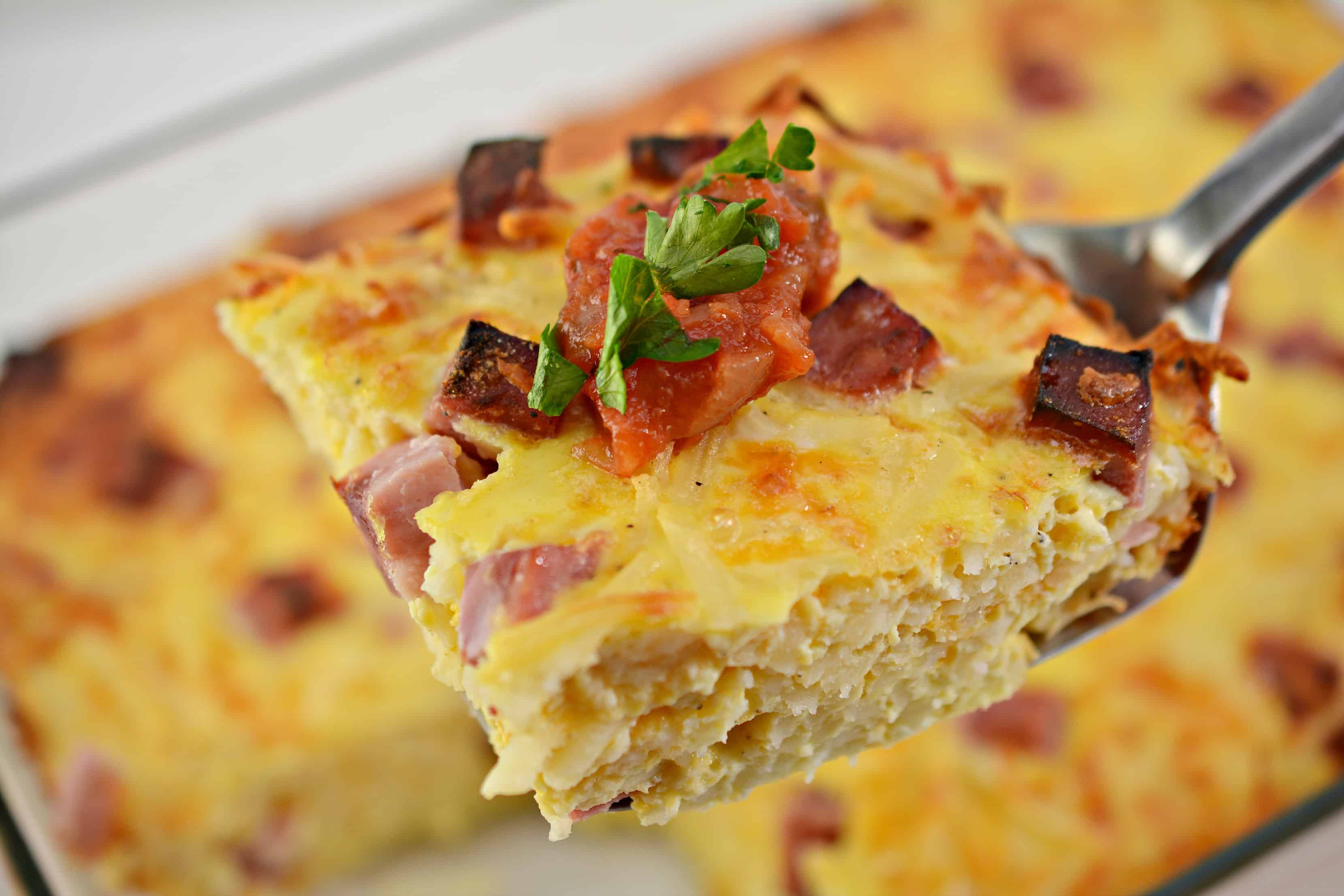Easy Breakfast Casserole with Variations