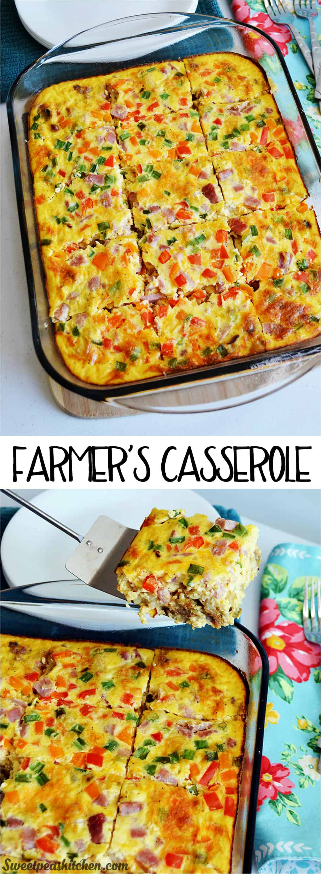 Farmer's Healthy Breakfast Casserole