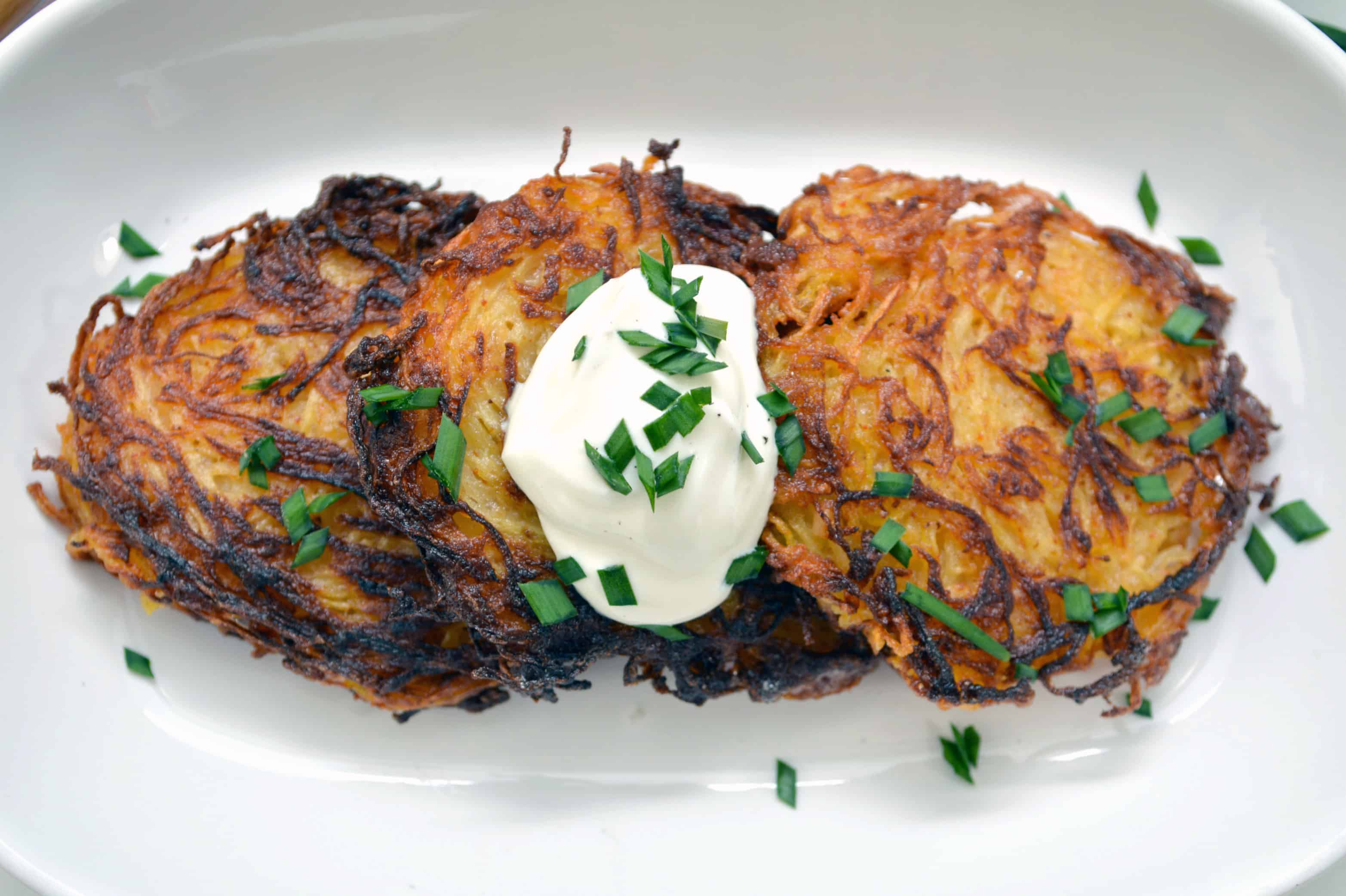 Fried Spaghetti Squash Fritters Recipe