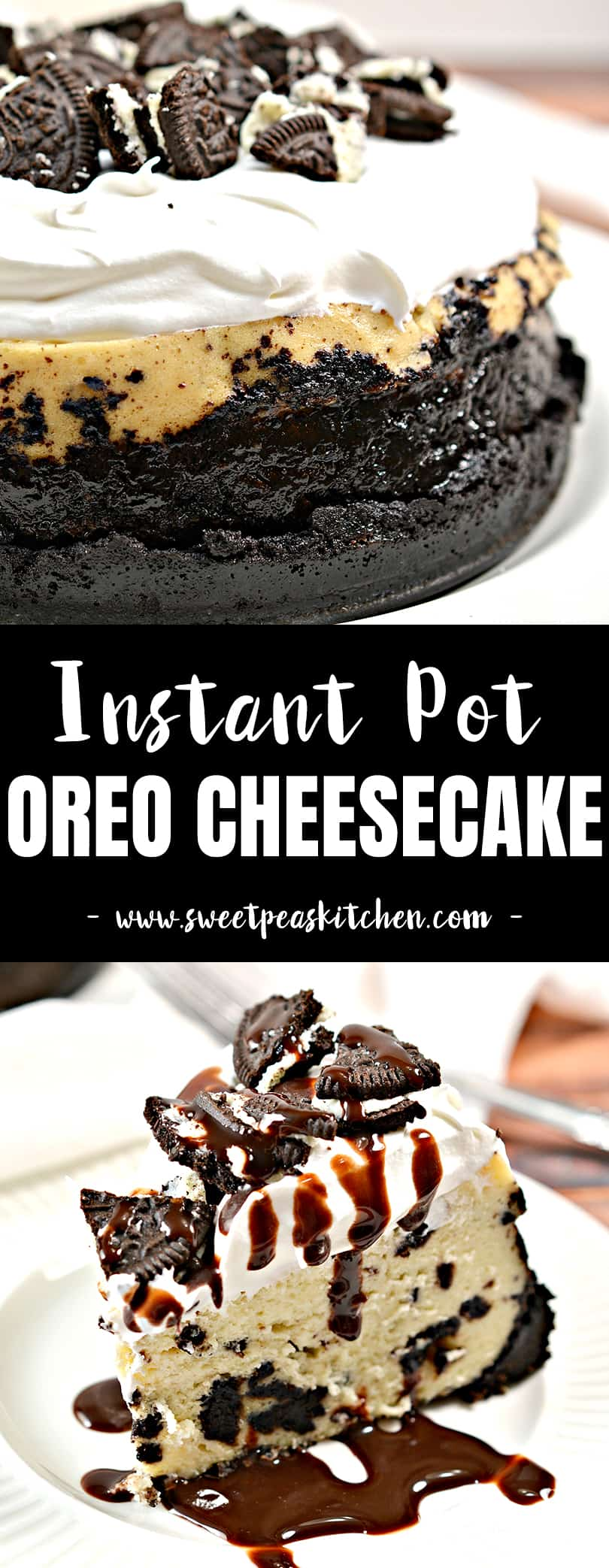 Instant Pot Oreo Cheesecake Recipe