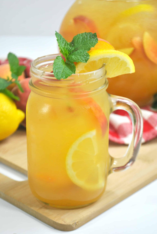 Sugar-Free Peach Lemonade